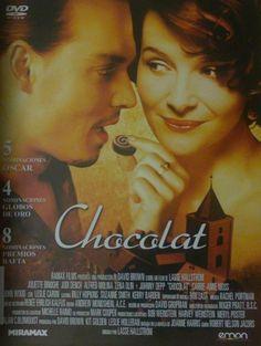 Chocolat [Video (DVD)] / dirigida por Lasse Hallström ; guión de Robert Nelson Jacobs ; basado en el libro de Joanne Harris ; música, Rachel Portman]