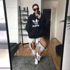 "10.6k Likes, 65 Comments - SHANNEN JAI PEROOMAL (@shannenjai) on Instagram: ""Adidas hoodie from the babes at @shopalexapope - yes my jeans are ripped, how observant of you…"""