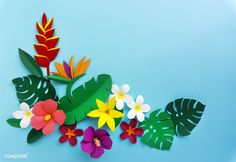 Go to the webpage to read more on Origami Models Paper Flower Garlands, Paper Flowers Craft, Giant Paper Flowers, Flower Crafts, Tropical Art, Tropical Flowers, Diy And Crafts, Arts And Crafts, Ballerina Birthday Parties