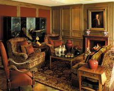 Камин похож на телевизор, но любоваться можно вечно Http://interior.pro/ Interiors/2546/?image_idu003d19401 | For The Home | Pinterest | Spaces