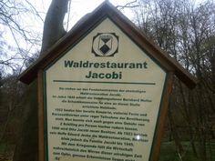 Hier an dieser Stelle stand das Waldrestaurant