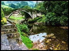 Roman bridge in Lierganes Cantabria (northern Spain) by PabloPerezGonzalez8