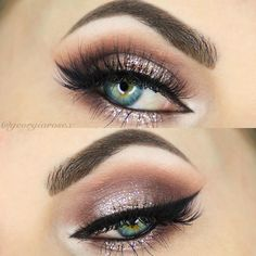 Mauve champagne halo eye #makeup #eye #eyeshadow