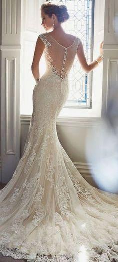 Elegant wedding dress - Wedding inspirations