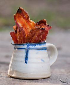 Candied Bacon @FoodBlogs