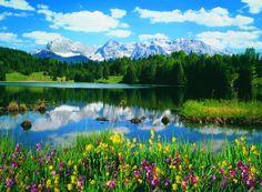 visit the Bavarian Alps Germany