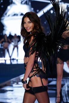 Victoria's Secret Fashion Show 2014 - Lily Aldridge walks in the 2014 Victoria's Secret Fashion Show