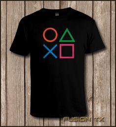 """PlayStation Controller PS2 PS3 Mens Cool Gaming T Shirt   eBay"""""""