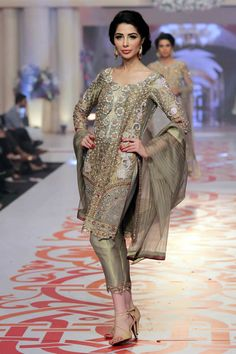 Asifa & Nabeel showcased Telenor Bridal Couture Week Day 2 with his latest summer couture ...