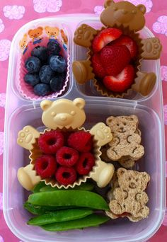 Little bears #bento in @EasyLunchBoxes