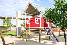 Our kids playhouse with interactive slide and telescope keeps them busy for ages, as they participate in imagination free play Herb Farm, Play Gym, Play Yard, Our Kids, Play Houses, Telescope, Kids Playing, Imagination, Outdoor Decor