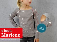 changeable sewing patterns for small and large from STUDIOSCHNIT … – Kids Clothing Sewing Clothes, Custom Clothes, Toddler Girl Style, Toddler Girls, Basic Shirts, Kind Mode, Hooded Jacket, Kids Outfits, Sewing Projects
