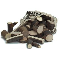 Natural Tree Branch Wooden Building Blocks