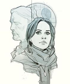 Stardust by Phil Noto #rogueone