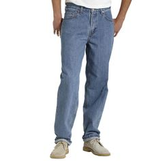 Big & Tall Levi's® 560™ Comfort Fit Jeans, Men's, Size: 44X30, Blue