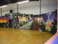 Las Vegas mural  Brought Vegas to Camden NJ