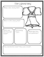 U.S. Symbols research project for all grades!
