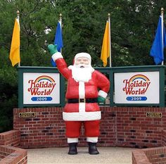 Holiday World in Santa Claus, IN. (Yes, I said Santa Claus). Who wouldn't want to go somewhere with rides named after Thanksgiving, Halloween, and Christmas side by side?!