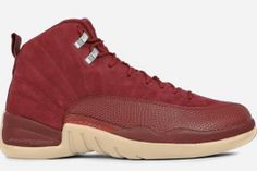 "f50e48979bc910 Rendering of the Air Jordan 12 ""Bordeaux"" Releasing in October 2017 Shoes  Sneakers"