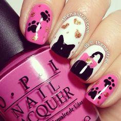 Instagram photo by thenailtrail #nail #nails #nailsart