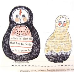 Katt Frank Matryoshka Illustration