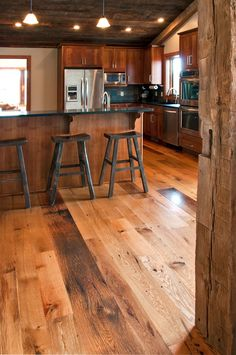 Recycled Barnwood.... Ohhh I can't look anymore! I had hundreds of square feet of this! Soooo sad!