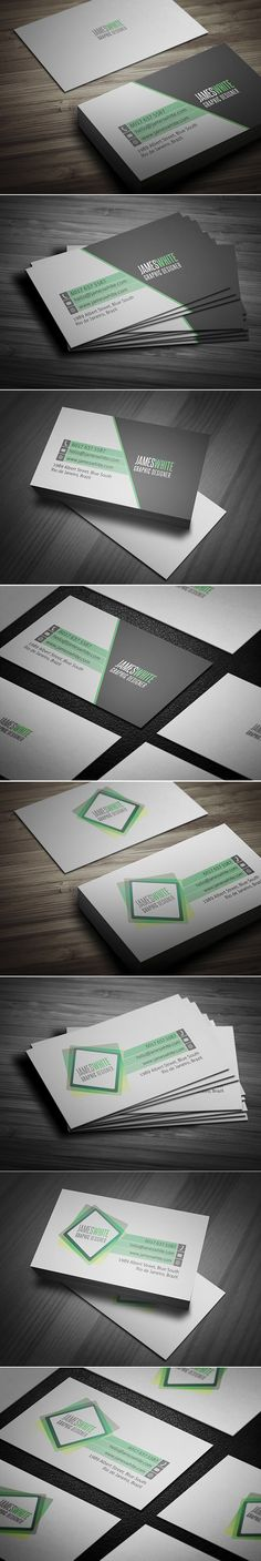 Simple Business Card 2 Versions