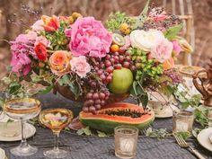 Blending flowers and edibles in a hot new garden trend. Get tips for how to do it in this inspirational gallery.