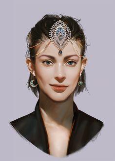 Character Concept, Character Design, Cyberpunk, Fantasy Races, Fantasy Characters, Fictional Characters, Character Portraits, New Girl, Princess Zelda