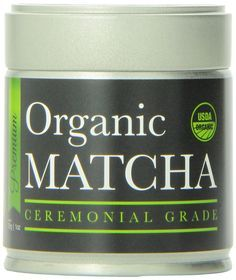 Matcha Green Tea Powder - ORGANIC - All Day Energy - Green Tea Lattes - Smoothies - Baking - Improved Hair & Skin Health- Metabolism Boost - Antioxidant Rich - Now From Japan! : Powdered Drink Mixes : Grocery & Gourmet Food