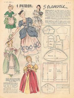 1 million+ Stunning Free Images to Use Anywhere Doll Clothes Patterns, Doll Patterns, Clothing Patterns, Knitting Patterns, Sewing Patterns, Sewing Art, Sewing Dolls, Sewing Crafts, Vintage Dress Patterns