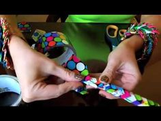 How to make a Duct Tape Bracelet - YouTube