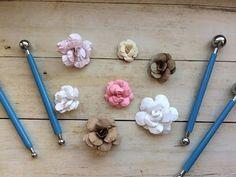 Делаем симпатичные цветочки для скрапбукинга: видео мастер-класс - Ярмарка Мастеров - ручная работа, handmade