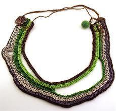 crochet necklaces - Google pretraživanje