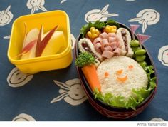 How to Make an Easy, Healthy Bunny Bento Lunch Box - Parenting.com