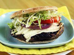 Ring-My-Bella Mushroom Sandwich from CookingChannelTV.com