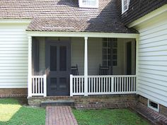 porch | Benjamin Waller House | Phillip Merritt | Flickr