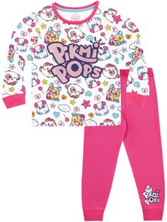 Chase some rainbows with these adorable Pikmi Pops pjs. Every little popsi-cool will go wild for this pyjama set featuring Dreams, Ebby and Smorey. Large Lollipops, All American Girl Dolls, Pop Clothing, Pop Bubble, Toddler Girl Gifts, Fall Winter Spring Summer, Pop Characters, October 5, Lol Dolls