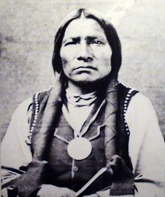 Chief Little Big Man of the Oglala - photo by D.S. Mitchell