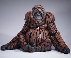 Orangutan by Edge Sculpture