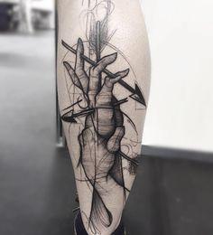 Classy, Beautiful Sketch-Style Tattoos by Frank Carrilho - UltraLinx