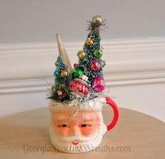 Image of Jolly Santa Face Mug Creation