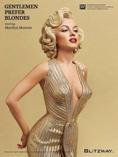 "Marilyn Monroe Doll from ""Gentlemen Prefer Blondes"" 1953"