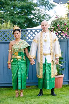 Cambodian wedding, I love the traditional attire, I want a royal blue or some hue of purple!