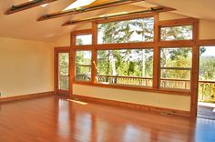 ***SOLD*** HOME NEAR TOWN - San Juan Island.  Custom built 1-story with 1422± sf, 3 bedrooms, 2 baths, Brazilian cherry floors, skylights, attached 1-car garage, distant views, on a large corner lot located just outside of town.  MLS#397677  $350,000. ***SOLD***  www.SamBuck.com