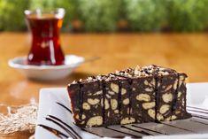 Csokis-keksztorta sütés nélkül Recept képpel - Mindmegette.hu - Receptek Sweet Recipes, Cake Recipes, Cooking Time, Tiramisu, Sugar Free, Brie, Sweet Tooth, Mosaic, Food And Drink
