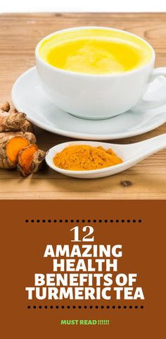 12 amazing health benefits of turmeric tea turmeric and ging Homeopathic Flu Remedies, Home Remedies For Flu, Natural Flu Remedies, Health Remedies, Cold Remedies, Natural Cures, Natural Health, Turmeric Tea Benefits, Irons