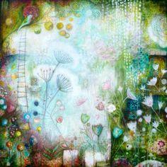 Laly Mille - A Secret Garden Joan Miro Paintings, Original Paintings, Art Journal Pages, Art Journaling, Journal Ideas, Online Art Classes, Art Journal Tutorial, Art Journal Techniques, Encaustic Art