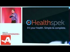 Since not everyone could fly to Boston to watch our AARP Health Innovation@50+ LivePitch, here's a video of Randy's pitch!  Learn about Healthspek, why it applies to you and how the personal health management app works.