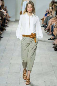 Fashion runway| Michael Kors Spring-Summer 2015 rtw | http://www.theglampepper.com/2014/10/18/fashion-runway-michael-kors-spring-summer-2015-rtw/